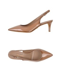 Eva Turner Pumps Khaki