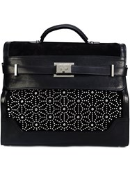 Dsquared2 Studded Buckle Holdall Black