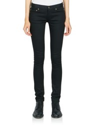 Saint Laurent Low Waist Super Stretch Skinny Jeans