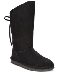 Bearpaw Women's Phylly Lace Up Cold Weather Boots Women's Shoes Black