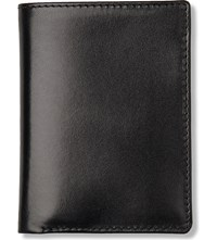 Launer Small Leather Card Wallet Black