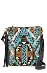 Big Buddha Geo Beaded Crossbody Bag
