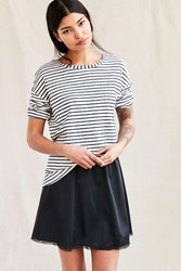 Urban Renewal Vintage Slip Skirt Black