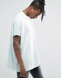Asos Extreme Oversized T Shirt In Mint Aqua Mint Green