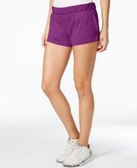 Energie Active Juniors' Jillian Pull On Active Shorts Punchy Purple Caviar