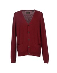 Scotch And Soda Knitwear Cardigans Men Maroon