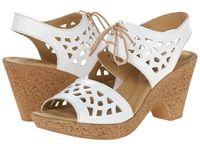 Spring Step Lamay White Women's Wedge Shoes