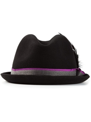 Paul Smith 'Christys' Trilby Hat Black