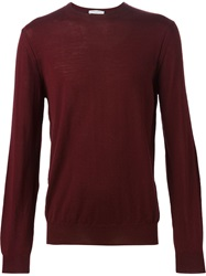 Paolo Pecora Crew Neck Sweater Red