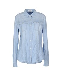 Cycle Denim Denim Shirts Women Blue