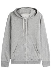 Rag And Bone Rag And Bone Cotton Hoodie Grey