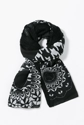 Desigual Geofresh Mixto Foulard Black