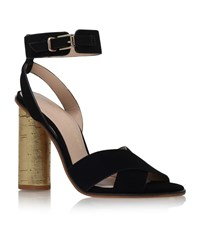 Kurt Geiger London Talbot Crossover Sandal Female Black