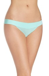 Betsey Johnson Women's 'Forever Perfect' Thong Light Mint