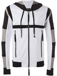 Unconditional Tribal Harness Print Hoodie White