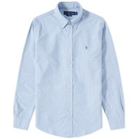 Polo Ralph Lauren Button Down Oxford Shirt Blue