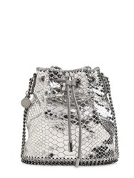 Stella Mccartney Falabella Metallic Bucket Bag