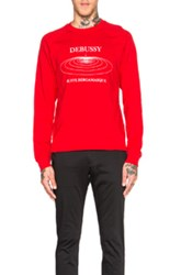 Opening Ceremony Debussy Raglan Sweatshirt In Red Checkered And Plaid