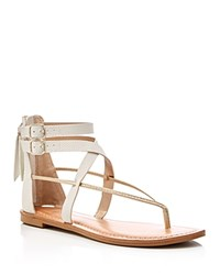 Dolce Vita Darrah Ankle Strap Thong Sandals Compare At 70 Cream Gold