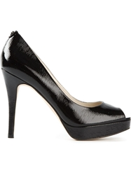 Michael Michael Kors 'York' Platform Pumps Black