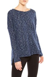 Sanctuary Women's 'Easy Street' High Low Pullover Navy