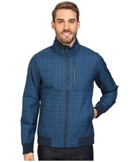 Nau Off The Grid Jacket Lagoon Men's Coat Blue
