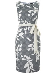 Precis Petite Clipse Spot Dress Grey