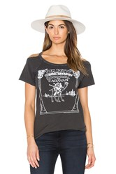 Chaser Rock And Roll Caravan Tee Gray