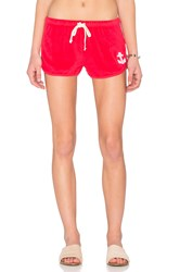 Sundry Anchor Patch Sweatshort Pink
