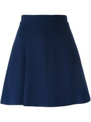 P.A.R.O.S.H. Short A Line Skirt Blue