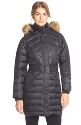 Women's Merrell 'Arctic Glow' Water Resistant Featherless Parka With Faux Fur Trim Hood