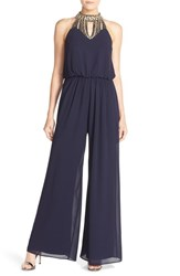 Women's Vince Camuto Beaded Neck Jumpsuit