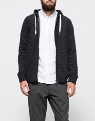 Native Youth Stripe Black Fleece Hoodie