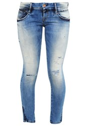 Ltb Lianne Slim Fit Jeans Justia Wash Bleached Denim