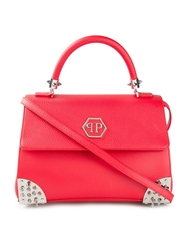 Philipp Plein 'Meryl' Tote Red