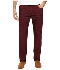 Joe's Jeans Brixton Straight Narrow Corduroy Brogue Men's Brown
