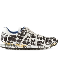 Premiata Spotted Sneakers Black