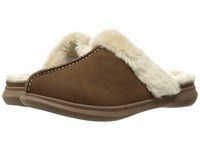 Spenco Supreme Slide Chocolate Bison Women's Slippers Brown