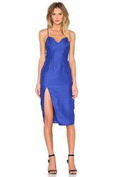Sau Gwyneth Pencil Dress Blue
