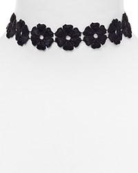 Baublebar Daisy Choker Necklace 11.5 Black