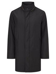 Bugatti 94Cm Funnel Neck Raincoat Black