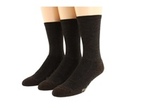 Fox River Merino Hiking Crew 3 Pair Pack Brown Heather Women's Crew Cut Socks Shoes