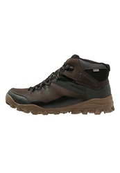 Merrell Fraxion Thermo 6 Winter Boots Chocolate Brown Dark Brown