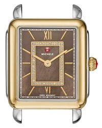 Michele 16Mm Deco Ii Mid Timepiece Watch Head