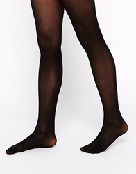 Asos 40 Denier Tights With Bum Tum Thigh Support Black