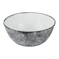 Missoni Home Cordonetto Large Serving Bowl Black