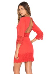 Nightcap Tulum Cutout Dress Orange