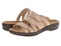 Clarks Leisa Cacti Q Nude Leather Women's Sandals Pink
