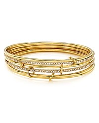 Kate Spade New York Stackable Bangles Set Of 6 Gold