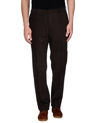 Pal Zileri Casual Pants Dark Brown